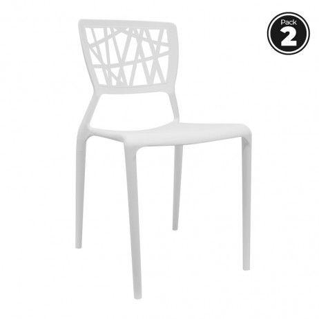 Pack 2 Cadeiras Delta