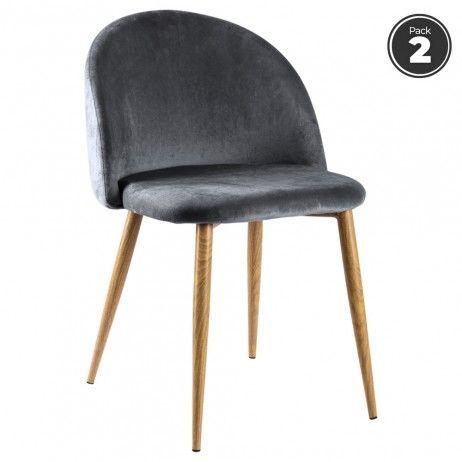 Pack 2 Cadeiras Vint Veludo - 7