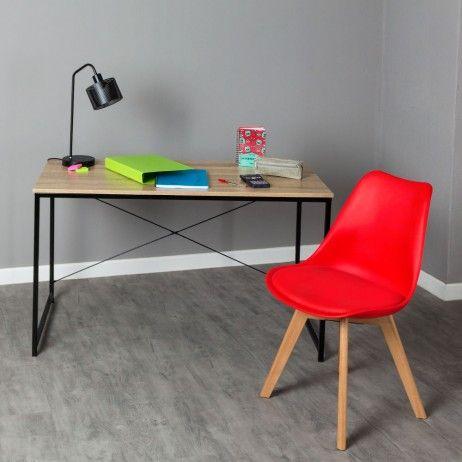 Conjunto Secretária Dek e Cadeira Synk Basic - Conjuntos