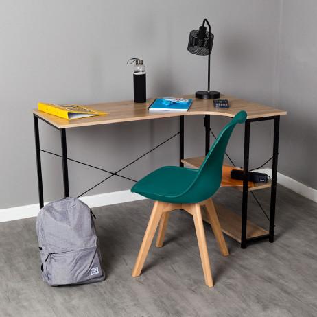 Conjunto Secretária Estik e Cadeira Synk Basic