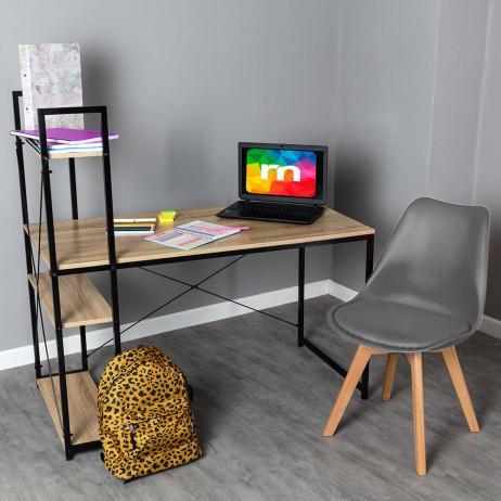 Conjunto Secretária Kecil e Cadeira Synk Basic