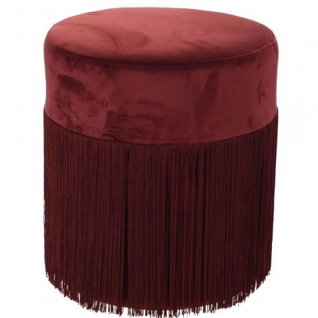 Puf Ashai Rojo 36 x 39 cm - Pufes
