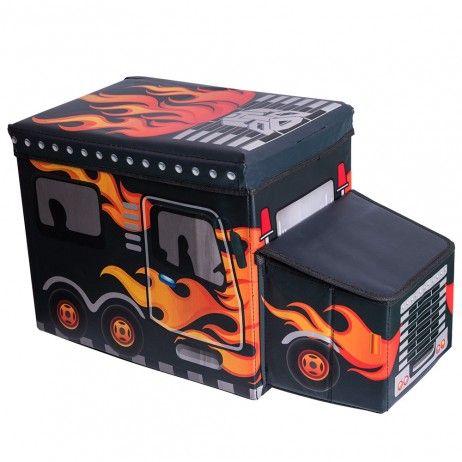 Caja Organizadora Black Flames - Decoração