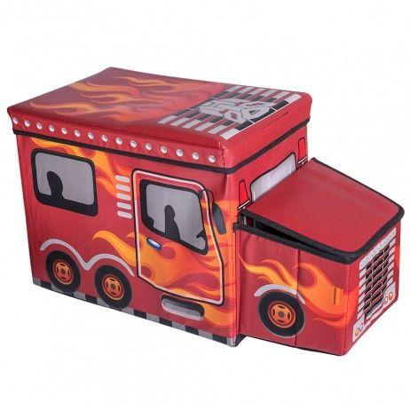 Caja Organizadora Red Flames - Decoração