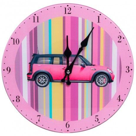 Relógio de Pared Rose Mini 30 cm - Decoração