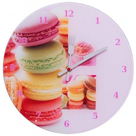 Relógio de Pared Macarons 30 cm - Decoração