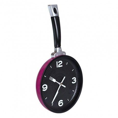 Reloj de Pared Skillet 20 x 35 cm