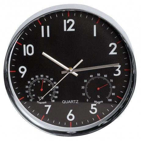 Relógio de Pared Quartz Redondo 30 cm - Decoração