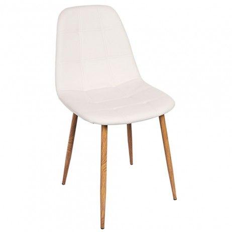 Cadeira Teok Couro Sintético - Cadeiras Sala Jantar