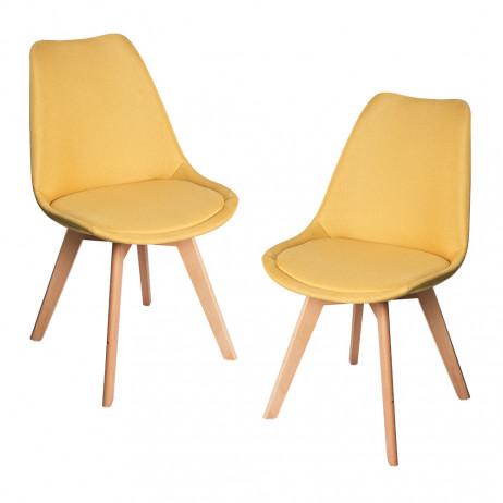 Pack 2 Cadeiras Synk Tecido - Packs Cadeiras Sala Jantar