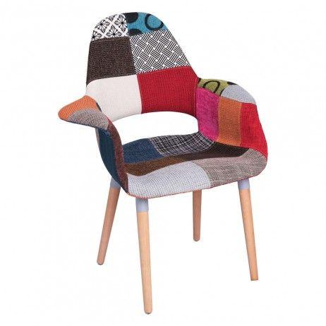 Cadeira Trone Patchwork - Cadeiras Sala Jantar