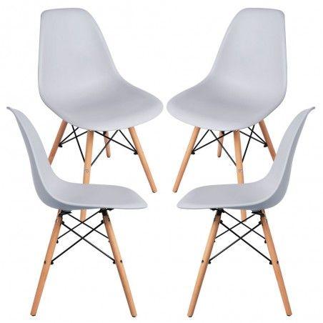 Pack 4 Cadeiras Tower Basic - 13