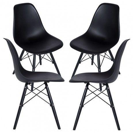 Pack 4 Cadeiras Tower Panther - Packs Cadeiras Sala Jantar