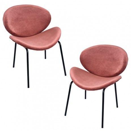 Pack 2 Cadeiras Suki Veludo - Packs Cadeiras Sala Jantar