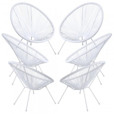 Packs 6 Cadeiras Karibic