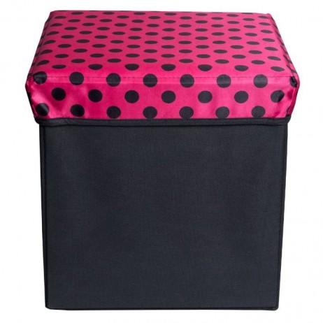 Caja Organizadora Box Lunares 30 x 30 cm - Decoração
