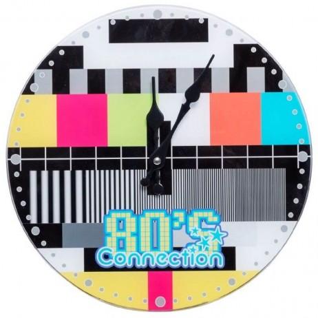 Relógio de Pared 80´s Connection 30 cm - Decoração