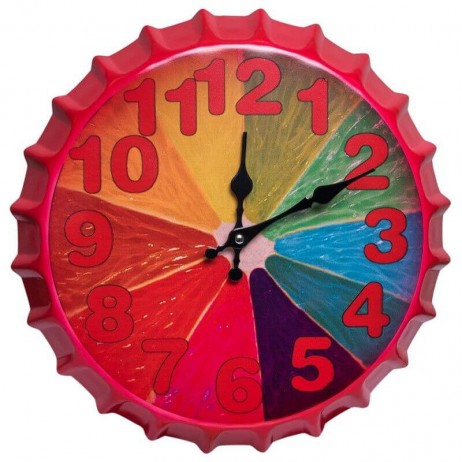 Relógio de Pared Citric 35 cm - Decoração