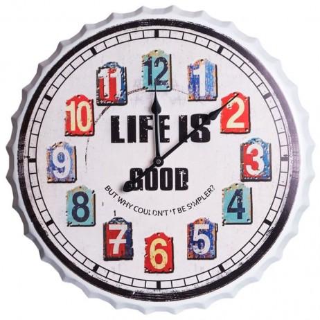 Relógio de Pared Life 50 cm - Decoração