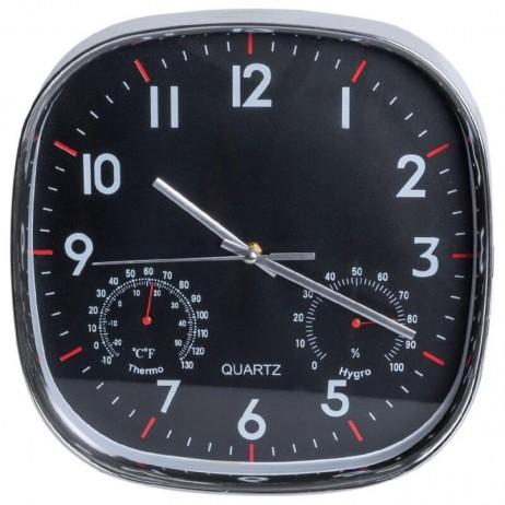 Relógio de Pared Quartz Cuadrado 30 x 30 cm - Decoração