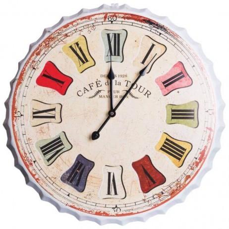 Relógio de Pared Retro 50 cm - Decoração