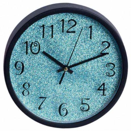 Relógio de Pared Shiny Azul Pequeño 20 cm - Decoração