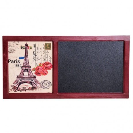 Pizarra París 40 x 80 cm - 1