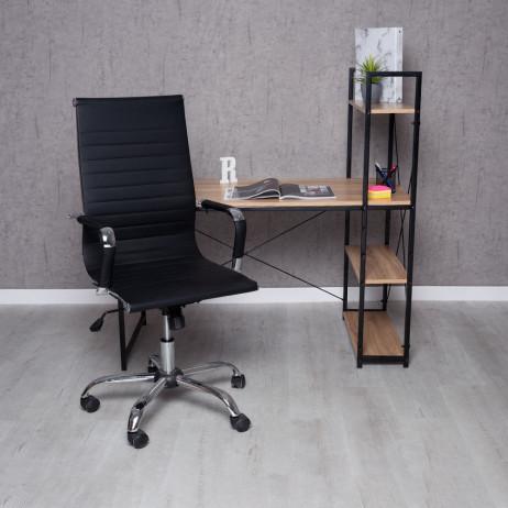 Conjunto Secretária Kecil e Cadeira Synk Basic - Conjuntos