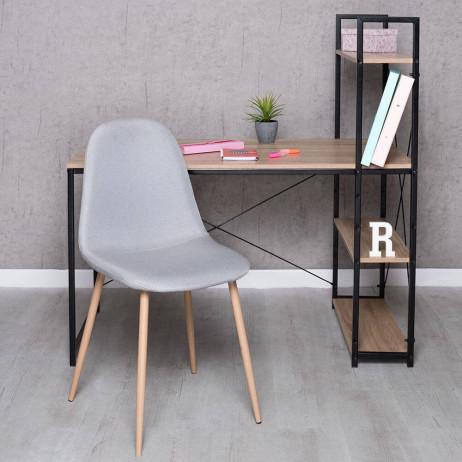 Conjunto Secretária Kecil e Cadeira Teok Tela - Conjuntos