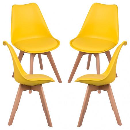 Pack 4 Cadeiras Synk Basic - 23