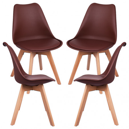 Pack 4 Cadeiras Synk Basic - 27