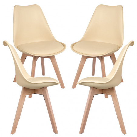 Pack 4 Cadeiras Synk Basic - 47