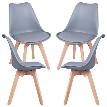 Pack 4 Cadeiras Synk Basic - 51