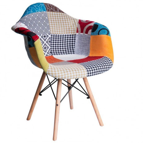 Cadeira Dau Patchwork - 1