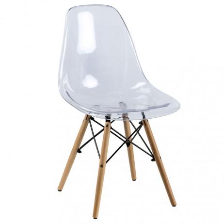 Cadeira Tower Transparente - 1
