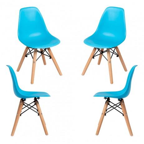 Pack 4 Cadeiras Tower Kid (Infantil) - 16