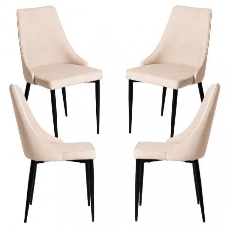 Pack 4 Cadeiras Stoik Vintage
