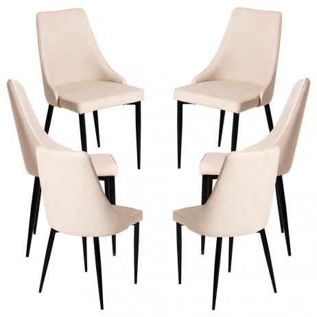 Pack 6 Cadeiras Stoik Vintage