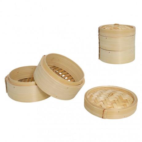 Vaporera de Bambu 14 x 8,5 cm - 1