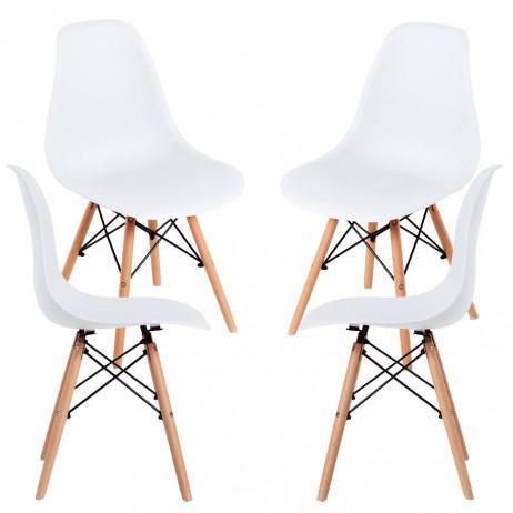 Pack 4 Cadeiras Tower Basic