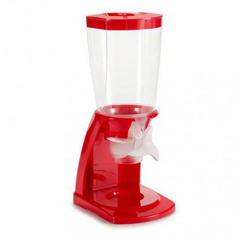 Dispensador Plastico Cereais Vermelho - Cozinha