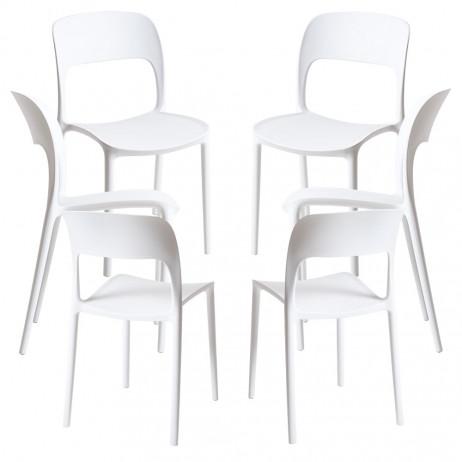 Pack 6 Cadeiras Inis