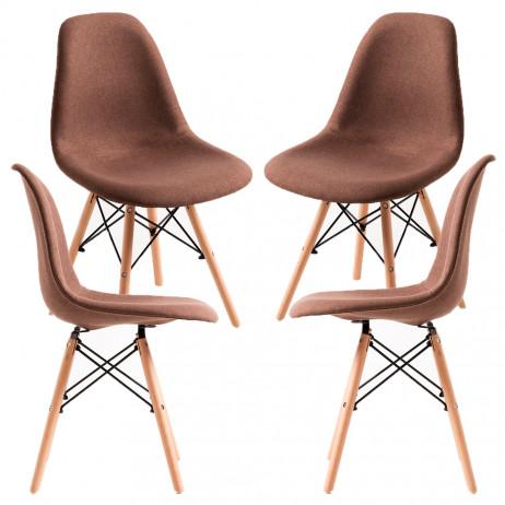 Pack 4 Cadeiras Tower Tecido - 6