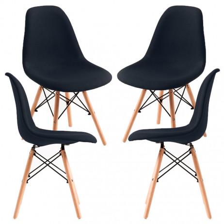 Pack 4 Cadeiras Tower Tecido
