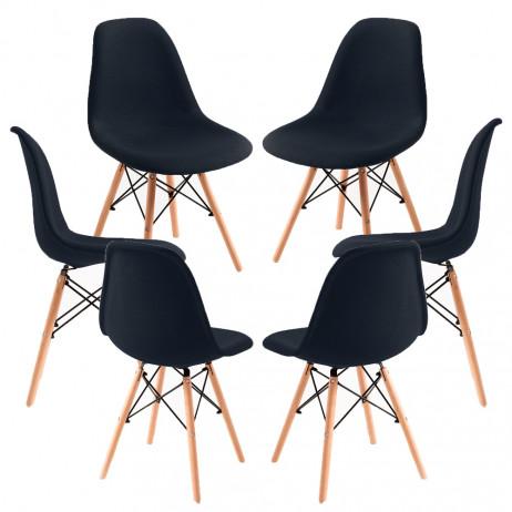 Pack 6 Cadeiras Tower Tecido
