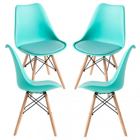 Pack 4 Cadeiras Tilsen