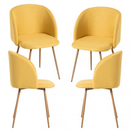 Pack 4 Cadeiras Velt Tela