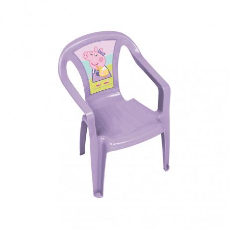 Cadeira PP Monoblock Peppa Pig