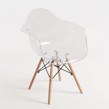 Cadeira Dau Transparente