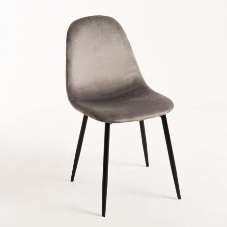 Cadeira Teok Black Veludo